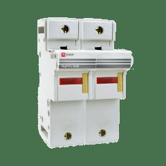 Предохранитель-разъединитель для ПВЦ 10x38 2P (с индикацией) EKF PROxima
