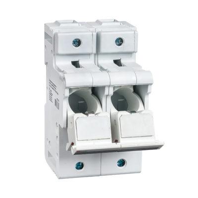 Предохранитель-разъединитель для ПВЦ 22x58 2P (с индикацией) EKF PROxima; pr-22-58-2