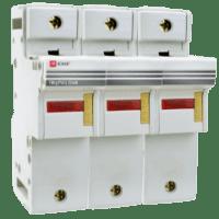 Предохранитель-разъединитель для ПВЦ 22x58 3P (с индикацией) EKF PROxima