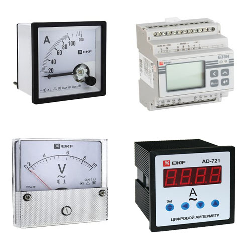Приборы измерительные