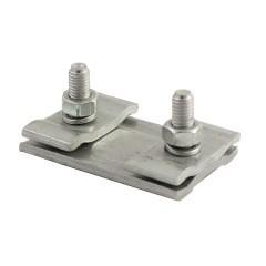 Зажим соединительный плашечный 2 болта М6 (D провода 5