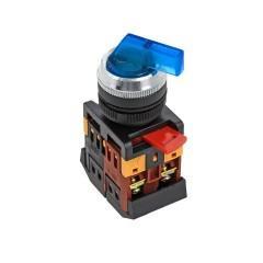 Переключатель ANLC-22 3P синий с подсветкой 380В NO+NC EKF PROxima