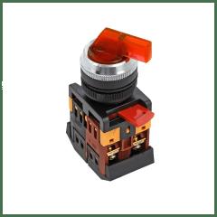 Переключатель ANLC-22 3P красный с подсветкой 380В NO+NC EKF PROxima
