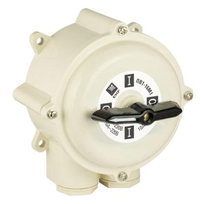 Пакетный выключатель ПВ 1-16 М1 пл. IP56 EKF PROxima; pv-1-16-4