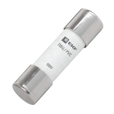 Плавкая вставка цилиндрическая ПВЦ (10х38)   4А EKF PROxima; pvc-10x38-4