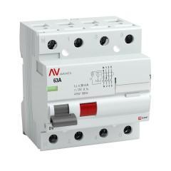 Выключатели дифференциального тока DV EKF AVERES (УЗО)
