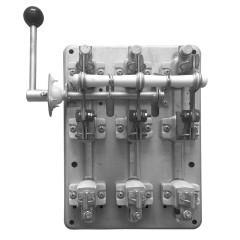 Разъединитель РПБ-4 400А левый привод