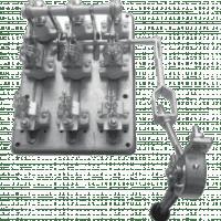 Разъединитель РПС-4 400А правый привод без ППН EKF PROxima