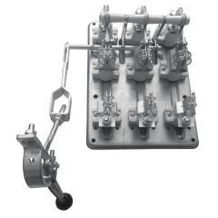 Разъединитель РПС-6 630А левый привод