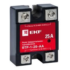 Реле твердотельное однофазное RTP-25-AA EKF PROxima