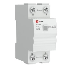 Реле напряжения (сквозное подкл.) RVb-63A EKF Basic