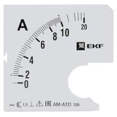 Шкала сменная для A721 10/5А-1