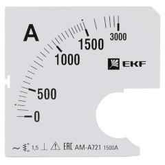 Шкала сменная для A721 1500/5А-1