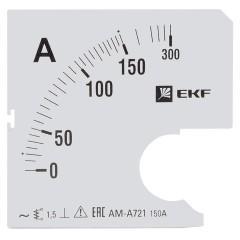 Шкала сменная для A721 150/5А-1