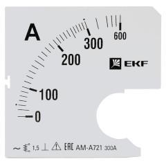 Шкала сменная для A721 300/5А-1