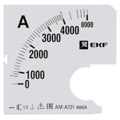 Шкала сменная для A721 4000/5А-1