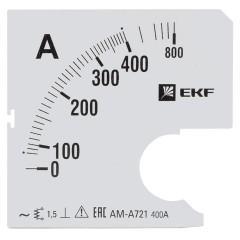 Шкала сменная для A721 400/5А-1