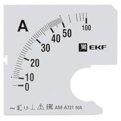 Шкала сменная для A721 50/5А-1