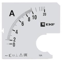 Шкала сменная для A961 10/5А-1
