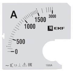 Шкала сменная для A961 1500/5А-1