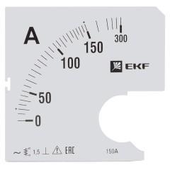 Шкала сменная для A961 150/5А-1
