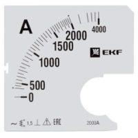 Шкала сменная для A961 2000/5А-1