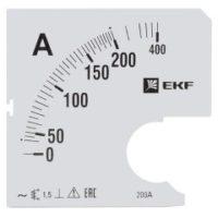 Шкала сменная для A961 200/5А-1