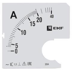 Шкала сменная для A961 20/5А-1