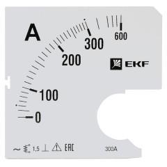 Шкала сменная для A961 300/5А-1