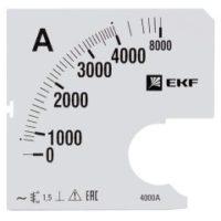Шкала сменная для A961 4000/5А-1