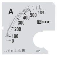 Шкала сменная для A961 500/5А-1