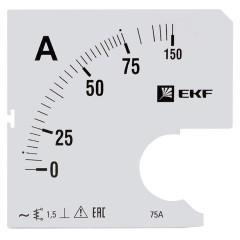 Шкала сменная для A961 75/5А-1