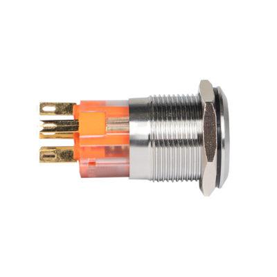 Кнопка S-Pro67 19 мм с фикс. с синей подсв. 230В EKF PROxima; s-pro67-241