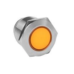 Лампа оранжевая сигнальная S-Pro67 19 мм 230В EKF PROxima