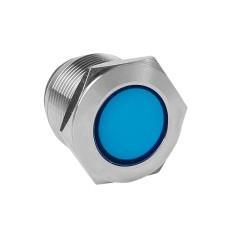 Лампа синяя сигнальная S-Pro67 19 мм 24В EKF PROxima