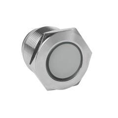 Лампа белая сигнальная S-Pro67 19 мм 230В EKF PROxima