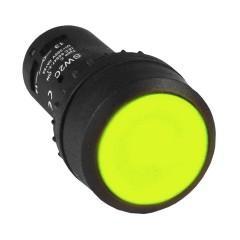 Кнопка SW2C-11 с фиксацией желтая NO+NC EKF PROxima