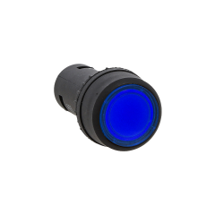 Кнопка SW2C-10D с подсветкой синяя NO 24В EKF PROxima