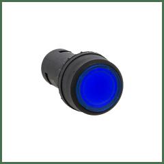 Кнопка SW2C-10D с подсветкой синяя NO EKF PROxima