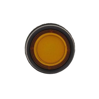 Кнопка SW2C-10D с подсветкой желтая NO EKF PROxima; sw2c-md-y
