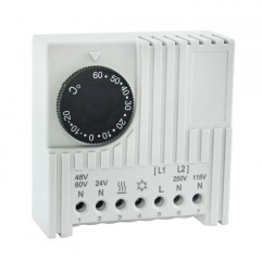 Термостат NO/NC (охлаждение/обогрев) на DIN-рейку 5-10A 230В IP20 EKF PROxima