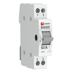 Трехпозиционный переключатель 1P 25А EKF Basic