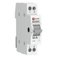 Трехпозиционный переключатель 1P 40А EKF Basic