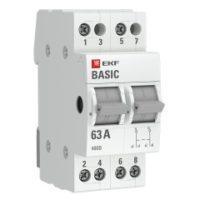 Трехпозиционный переключатель 2P 40А EKF Basic