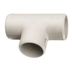 Тройник соединительный для трубы Plast (20мм.) EKF PROxima