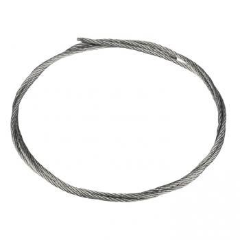 Трос стальной DIN 3055 200м (2мм) EKF