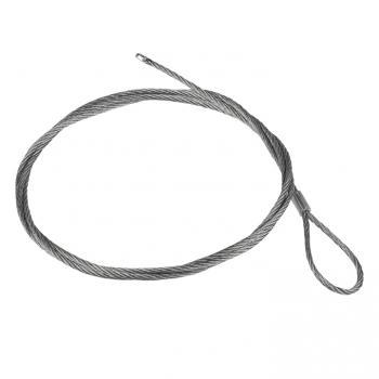 Трос стальной с петлей L=7м (2мм) EKF