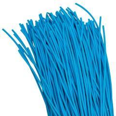 Термоусаживаемая трубка ТУТ нг 2/1 синяя в отрезках по 1м EKF PROxima