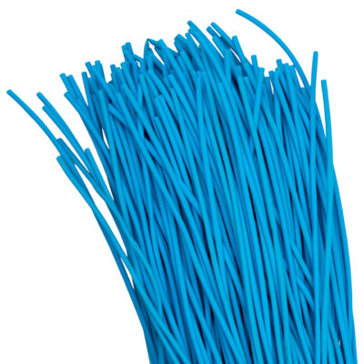 Термоусаживаемая трубка ТУТ нг 2/1 синяя в отрезках по 1м EKF PROxima; tut-2-g-1m