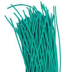 Термоусаживаемая трубка ТУТ нг 2/1 зеленая в отрезках по 1м EKF PROxima